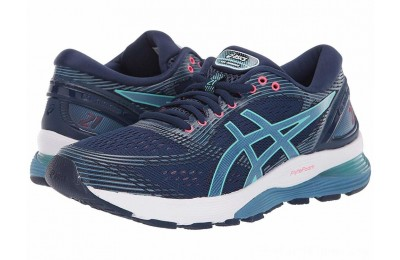 SALE ASICS GEL-Nimbus® 21 Blue Expanse/Grey Flannel