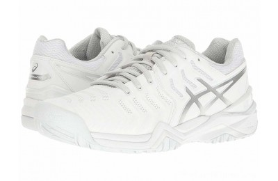 Sales - ASICS Gel-Resolution 7 White/Silver