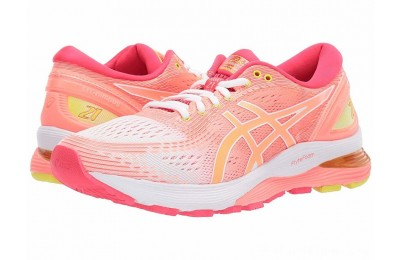 BLACK FRIDAY SALE ASICS GEL-Nimbus® 21 White/Sun Coral