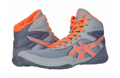 SALE ASICS Matflex 6 Stone Grey/Flash Coral