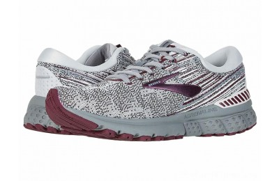 SALE Brooks Adrenaline GTS 19 Grey/White/Fig
