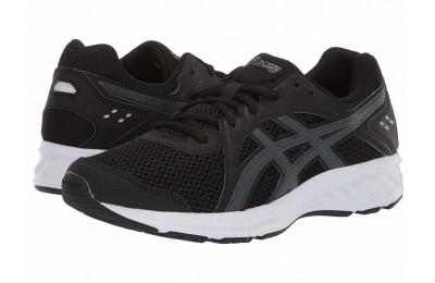 BLACK FRIDAY SALE ASICS Kids Jolt 2 GS (Big Kid) Black/Steel Grey