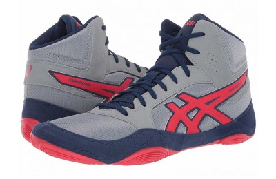 BLACK FRIDAY SALE ASICS Snapdown 2 Stone Grey/Classic Red