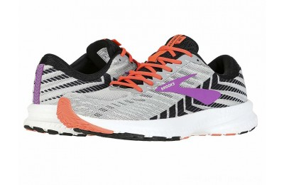Sales - Brooks Launch 6 Grey/Black/Purple