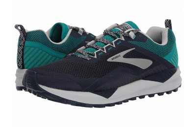 Sales - Brooks Cascadia 14 Navy/Blue Grass/Grey