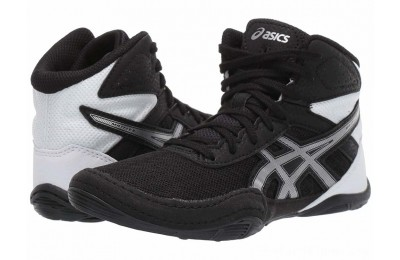 BLACK FRIDAY SALE ASICS Kids Matflex 6 (Toddler/Little Kid/Big Kid) Black/Silver