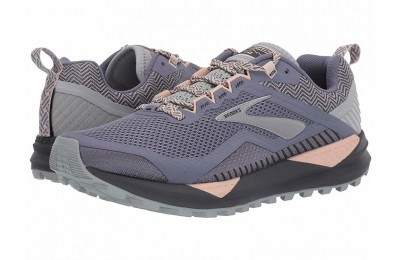 SALE Brooks Cascadia 14 Grey/Pale Peach/Pearl