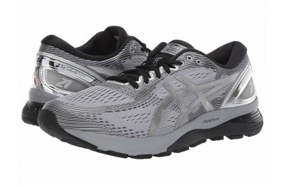 SALE ASICS GEL-Nimbus® 21 Sheet Rock/Silver