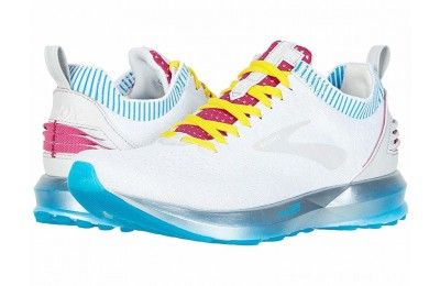 Sales - Brooks Levitate 2 White/Blue/Pink