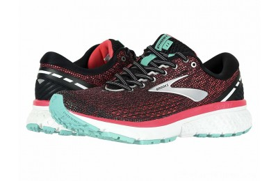BLACK FRIDAY SALE Brooks Ghost 11 Black/Pink/Aqua
