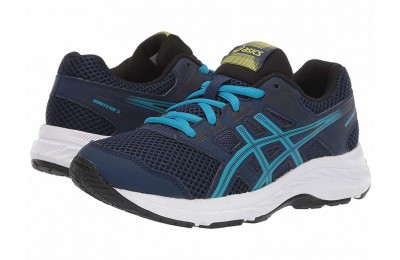 SALE ASICS Kids Gel-Contend 5 (Big Kid) Blue Expanse/Island