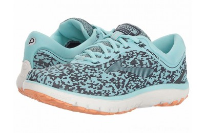BLACK FRIDAY SALE Brooks PureFlow 7 Turquoise/Navy/Cantaloupe