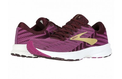 SALE Brooks Launch 6 Aster/Fig/Gold