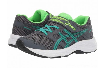 BLACK FRIDAY SALE ASICS Kids Gel-Contend 5 (Toddler/Little Kid) Carrier Grey/Baltic