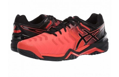 BLACK FRIDAY SALE ASICS Gel-Resolution 7 Cherry Tomato/Black