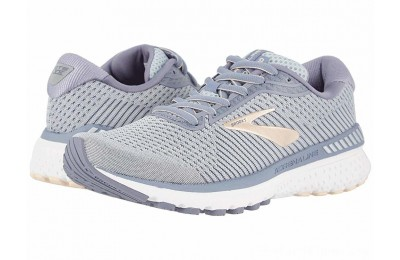 SALE Brooks Adrenaline GTS 20 Grey/Pale Peach/White