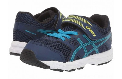 SALE ASICS Kids Gel-Contend 5 (Toddler) Blue