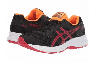 BLACK FRIDAY SALE ASICS Kids Gel-Contend 5 (Big Kid) Black/Speed Red