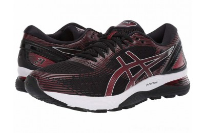 SALE ASICS GEL-Nimbus® 21 Black/Classic Red