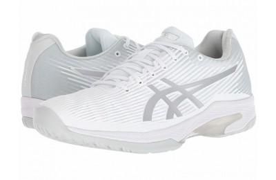 BLACK FRIDAY SALE ASICS Solution Speed FF White/Silver
