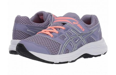 SALE ASICS Kids Gel-Contend 5 (Toddler/Little Kid) Ash Rock/Silver