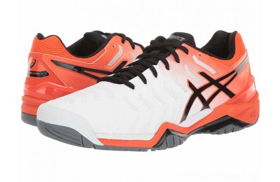 BLACK FRIDAY SALE ASICS Gel-Resolution 7 White/Koi