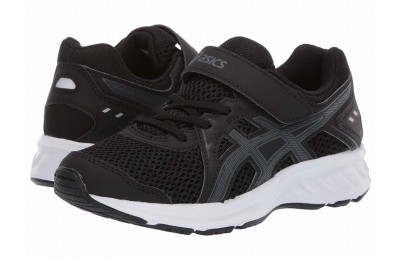 SALE ASICS Kids Jolt 2 PS (Toddler/Little Kid) Black/Steel Grey