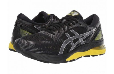 SALE ASICS GEL-Nimbus® 21 Black/Lemon Spark