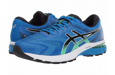 SALE ASICS GT-2000 8 Electric Blue/Black