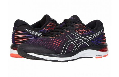 SALE ASICS GEL-Cumulus® 21 Black/Flash Coral