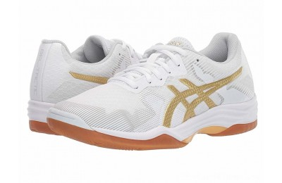 SALE ASICS GEL-Tactic® White/Rich Gold