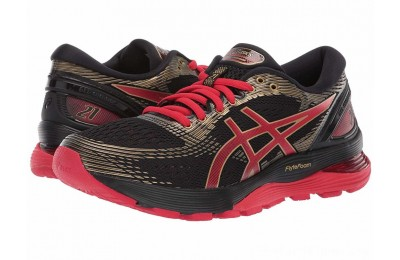 BLACK FRIDAY SALE ASICS GEL-Nimbus® 21 Black/Classic Red