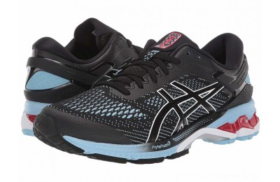 SALE ASICS GEL-Kayano® 26 Black/Heritage Blue