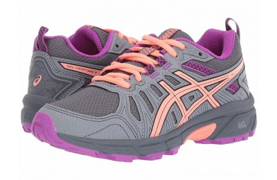 Sales - ASICS Kids GEL-Venture 7 (Little Kid/Big Kid) Metropolis/Black