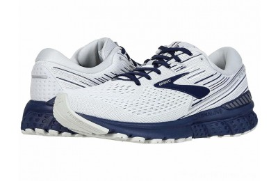 Sales - Brooks Adrenaline GTS 19 White/Grey/Navy