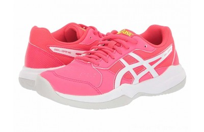 SALE ASICS Kids Gel-Game 7 (Little Kid/Big Kid) Laser Pink/White