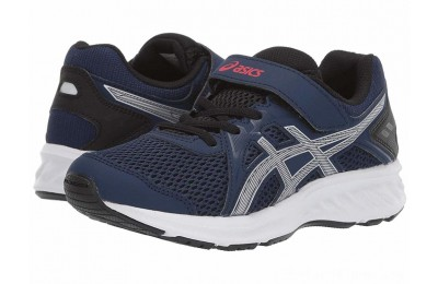 BLACK FRIDAY SALE ASICS Kids Jolt 2 PS (Toddler/Little Kid) Blue Expanse/Silver