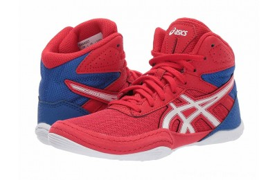 BLACK FRIDAY SALE ASICS Kids Matflex 6 (Toddler/Little Kid/Big Kid) Classic Red/White