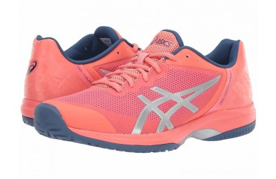 SALE ASICS Gel-Court Speed Papaya/Silver