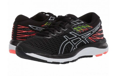BLACK FRIDAY SALE ASICS Kids Gel-Cumulus 21 (Big Kid) Black/White