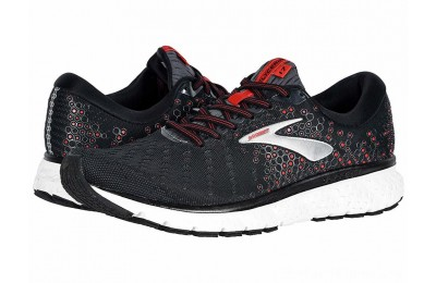 SALE Brooks Glycerin 17 Black/Ebony/Red