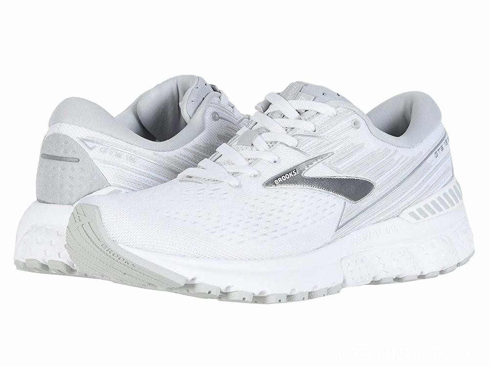 Sales - Brooks Adrenaline GTS 19 White/White/Grey