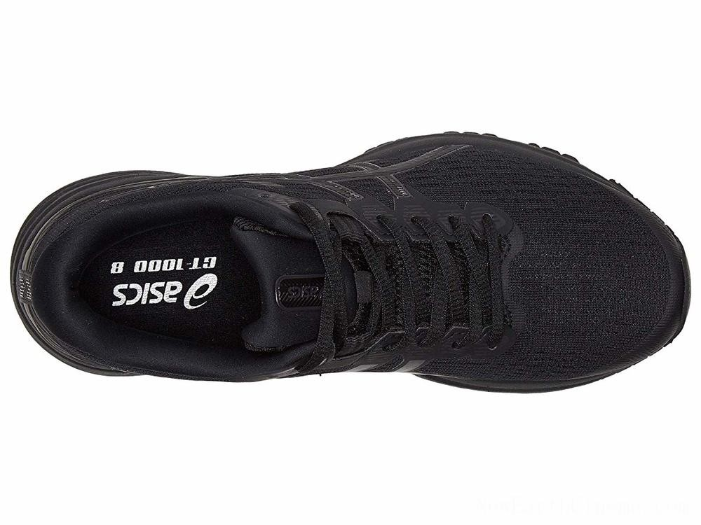 SALE ASICS GT-1000 8 Black/Black