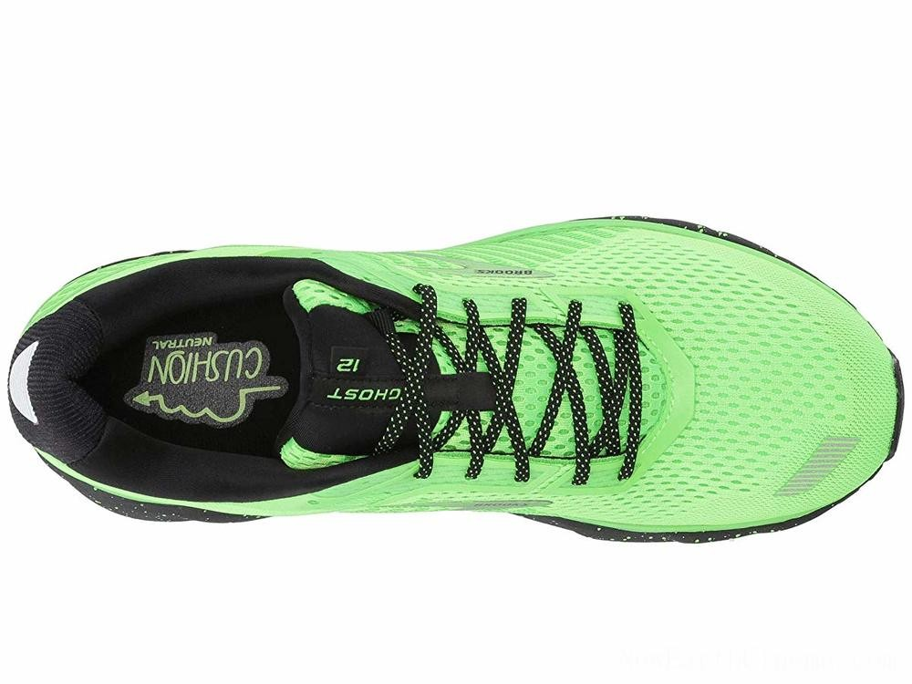 SALE Brooks Ghost 12 Green Gecko/Black