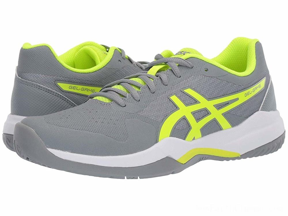 SALE ASICS Gel-Game 7 Stone Grey/Safety Yellow