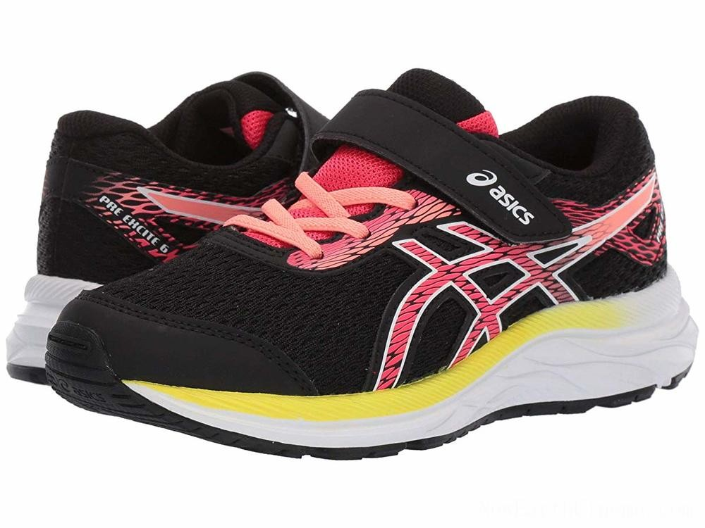 Sales - ASICS Kids Gel-Excite 6 (Toddler/Little Kid) Black/Laser Pink