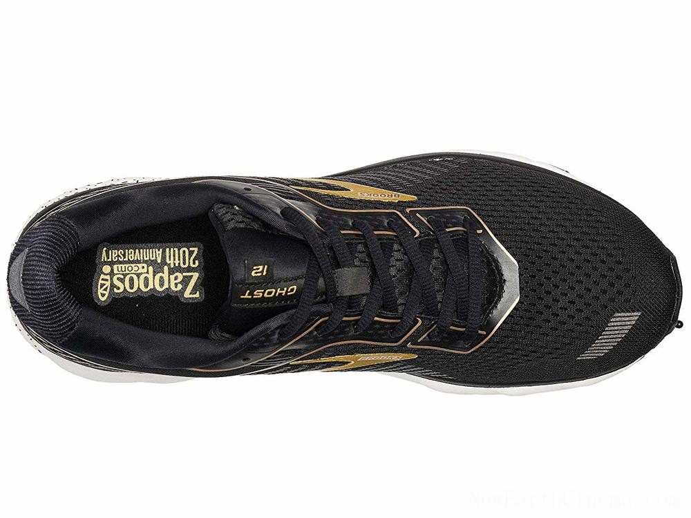 SALE Brooks Zappos 20th x Ghost 12 Black/Gold