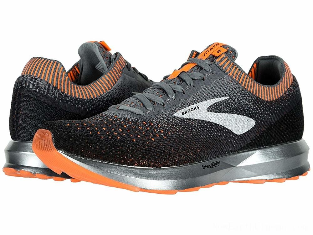 SALE Brooks Levitate 2 Grey/Black/Orange