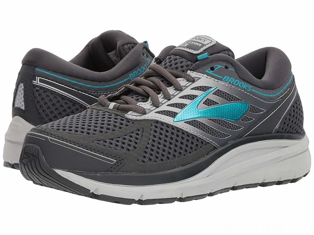 SALE Brooks Addiction 13 Ebony/Silver/Pagoda Blue
