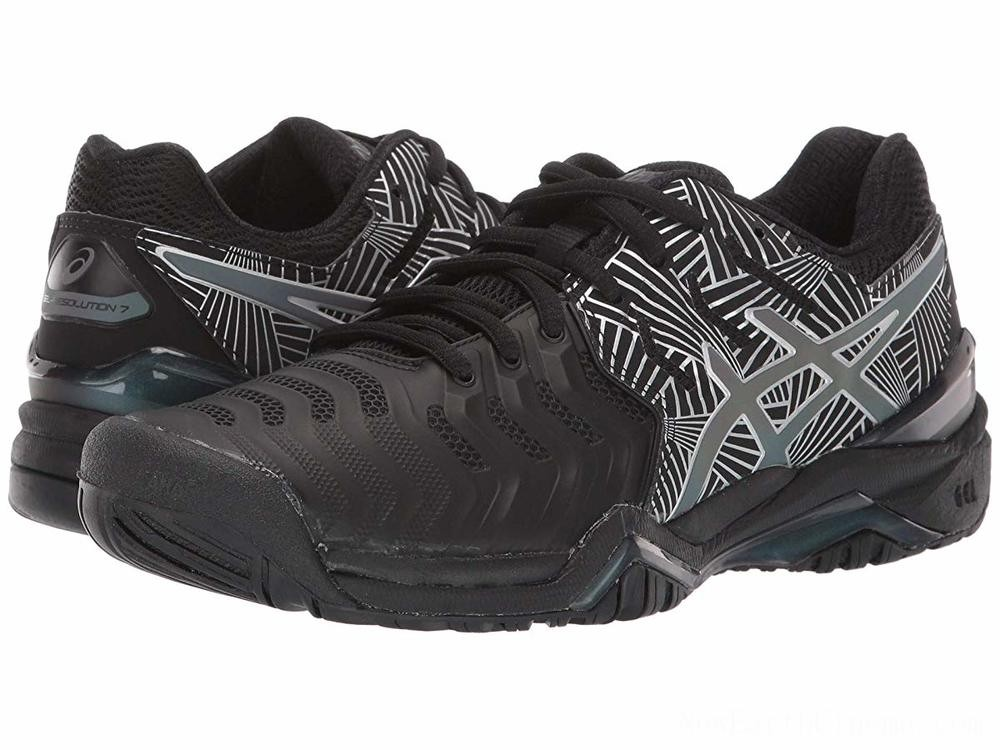 SALE ASICS Gel-Resolution 7 Black/Silver